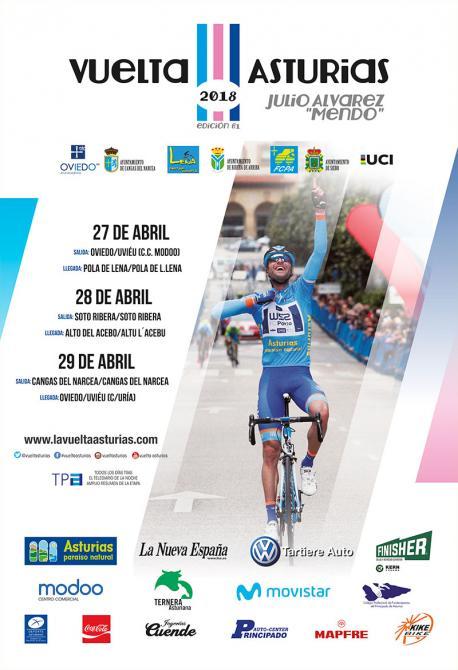Cartelu LXI Vuelta a Asturies