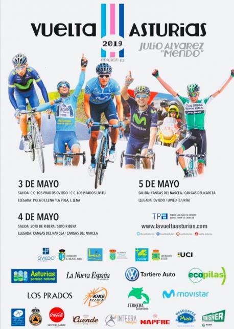 Cartelu LXII Vuelta a Asturies