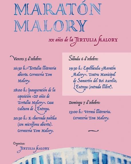 Cartelu Maratón Malory