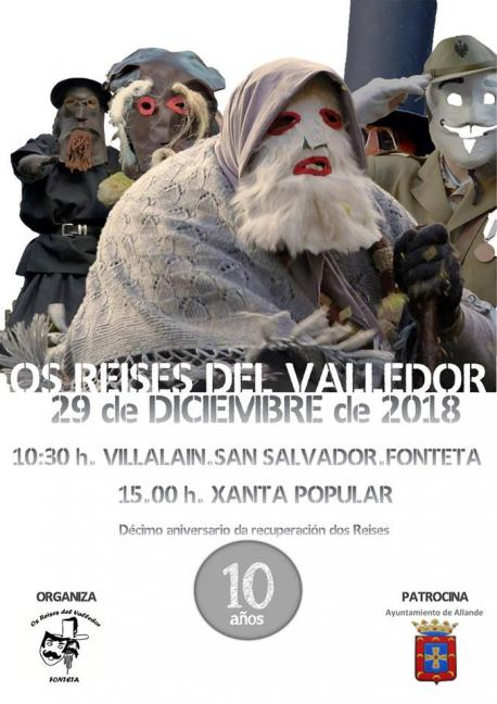 Cartelu Os Reises del Valledor 2018