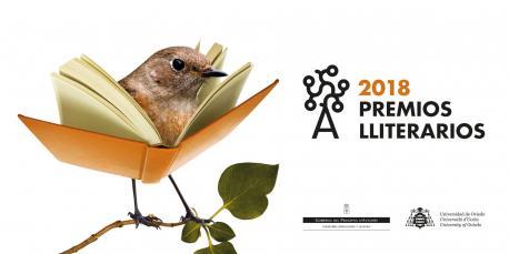 Cartelu Premios Lliterarios 2018