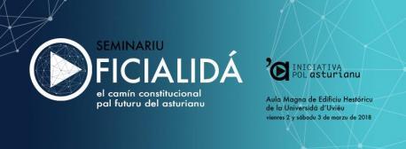 Cartelu seminariu oficialidá Iniciativa pol Asturianu