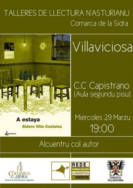 Sidoro Villa va falar con llectores en Villaviciosa