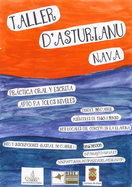Nava acueye un Taller d'Asturianu basáu nel coaprendizaxe