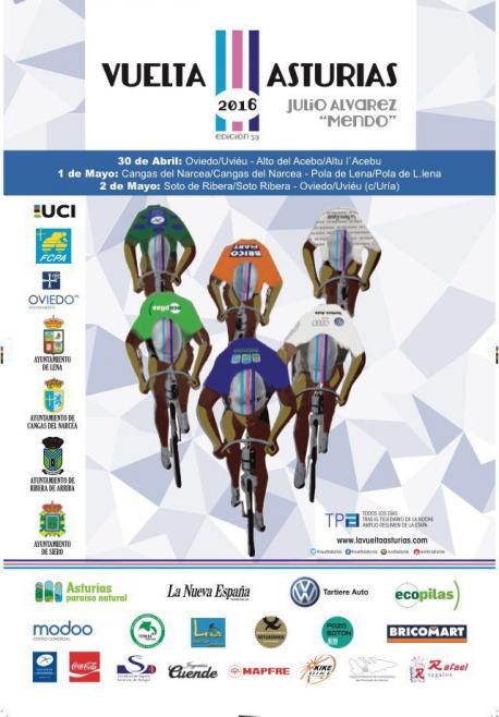 Cartelu Vuelta a Asturias 2016