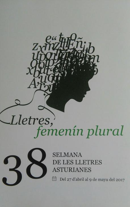 Cartelu XXXVIII Selmana de les Lletres Asturianes