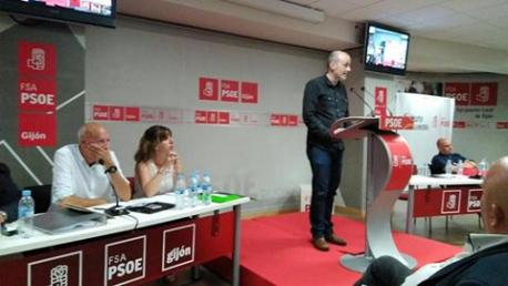César Herrerías enmienda oficialidá FSA Xixón