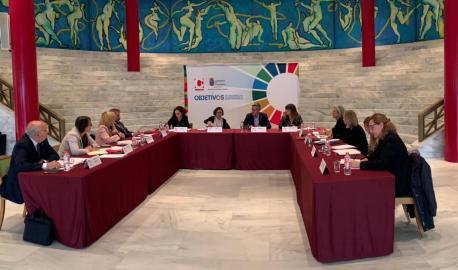 Comisión de coordinación del conveniu ente Aecid y comunidaes autónomes en Cantabria