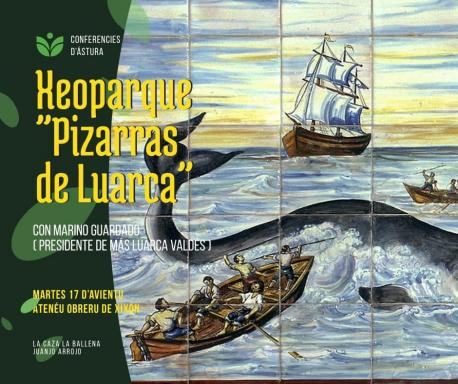 Conferencia Xeoparque 'Pizarras de Luarca' d'Ástura