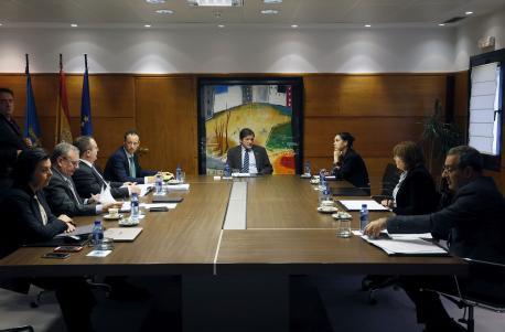 Conseyu de Gobiernu del 9 de xineru cola ausencia de Genaro Díaz