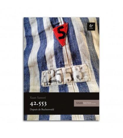 Cubierta '42.553: depués de Buchenwald' Xuan Santori