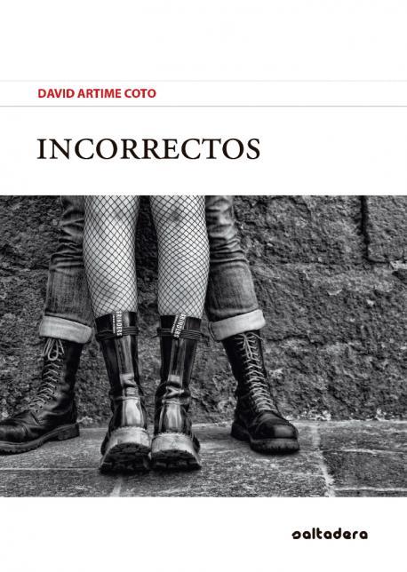 Cubierta 'Incorrectos' de David Artime