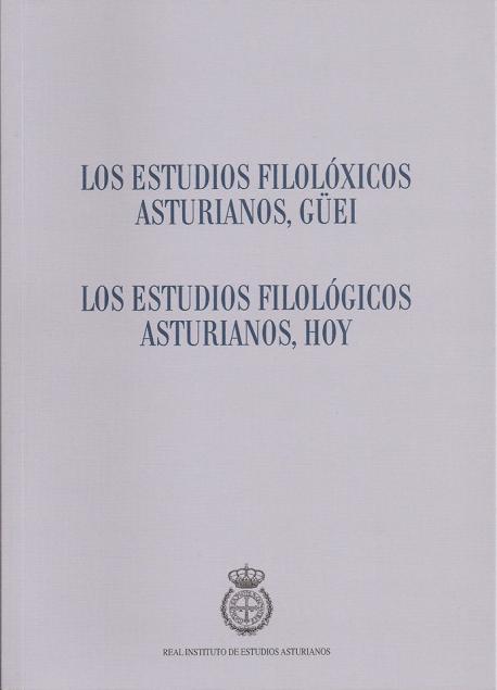 Cubierta 'Los estudios filolóxicos asturianos, güei' RIDEA