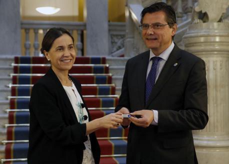 Dolores Carcedo y Pedro Sanjurjo presupuestos 2018