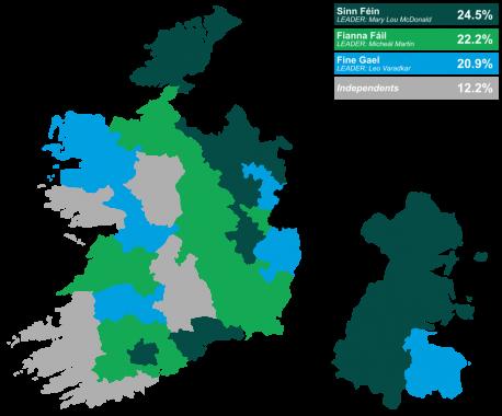 Eleiciones Éire 2020