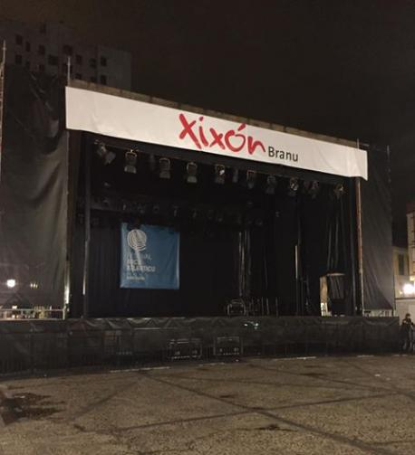 Escenariu Festival Arcu Atlánticu