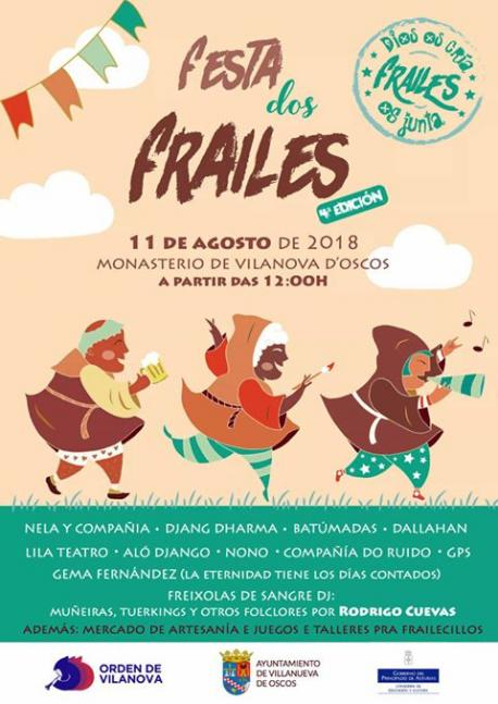 Vilanova d'Oscos acueye la 'Festa dos frailes'
