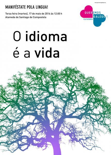 O idioma é a vida