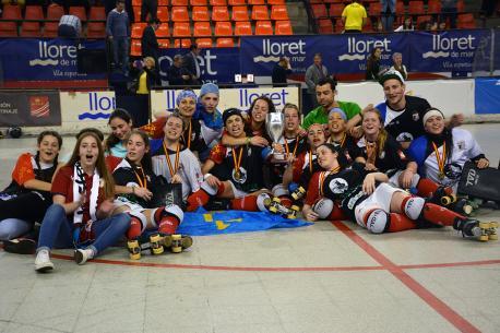 L'Hostelcur, campéon de Copa tres ganar na final al Generali Palau