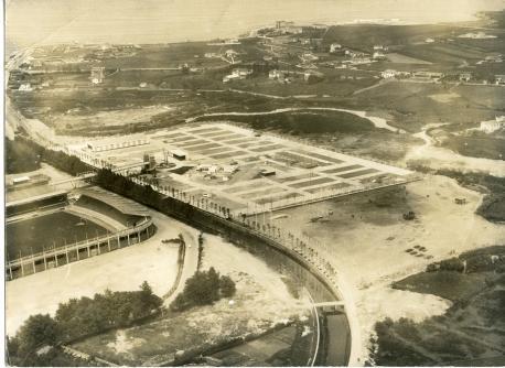 Imaxe d'abril del 1968 FIDMA y Muséu del Pueblu d'Asturies