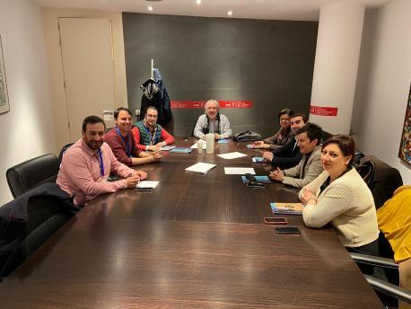 Iniciativa pol Asturianu y PSOE Congresu y Senáu en Madrid