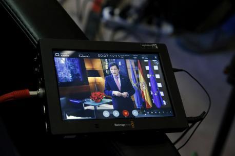 Javier Fernández discursu fin d'añu