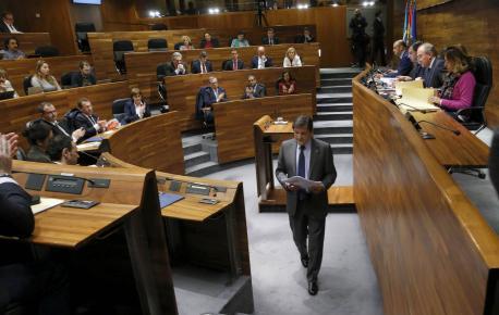 Javier Fernández final discursu Alderique d'Orientación Política Xeneral 2017