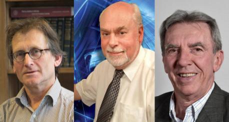 Jean-Pierre Sauvage, James Fraser Stoddart y Bernard Lucas Feringa