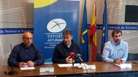 Jorge Fernández Fierro, José Ramón Tuero y Francisco Javier Martínez