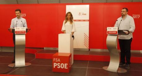 José María Pérez López y Adrián Barbón debate II