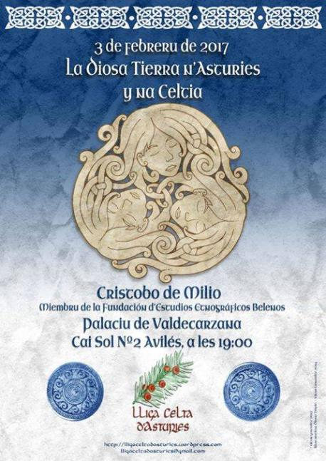 Conferencia 'La diosa Tierra n'Asturies y na Céltica'