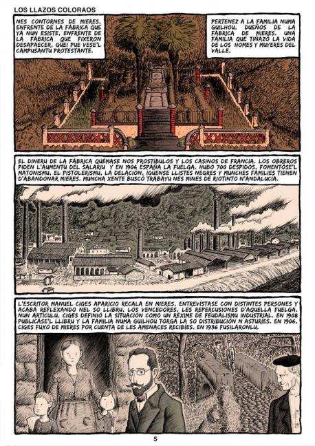 'Los llazos coloraos' d'Alberto Vázquez García