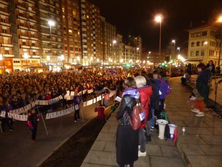 Manifestación 8-M en Xixón