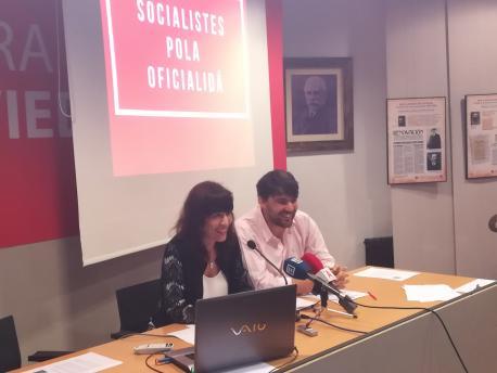 Testu de la enmienda presentada por Socialistes pola Oficialidá