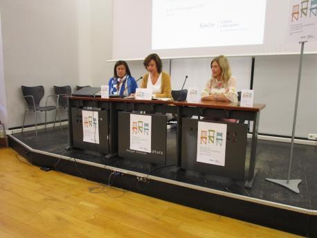 María Xosé Rodríguez López, Ana Montserrat López Moro y Hermina Bermúdez