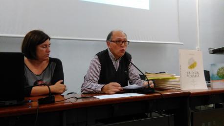 María Xosé Rodríguez López y Xosé Ramón Iglesias Cueva