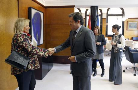 Mercedes Fernández y Javier Fernández negociación presupuestos