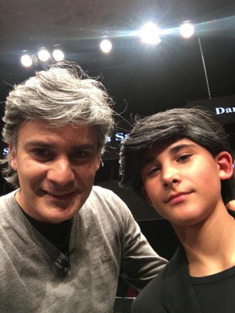 Nando Agüeros y Daniel Fernández