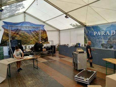 Pabellón d'Asturies nel Festival Interceltique de Lorient