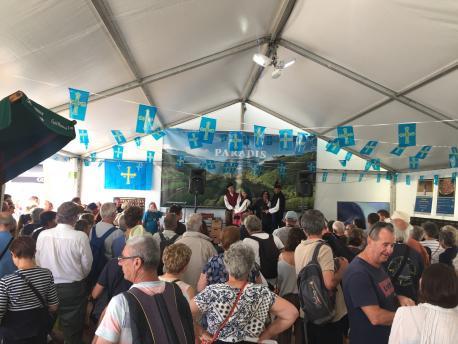 Pabellón d'Asturies nel XLIX Festival Interceltique de Lorient