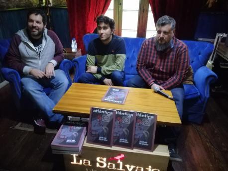 Pablo R. Guardado, David Remartínez y Miguel Fernandi 'Burilo' meyor once Atlántica XII