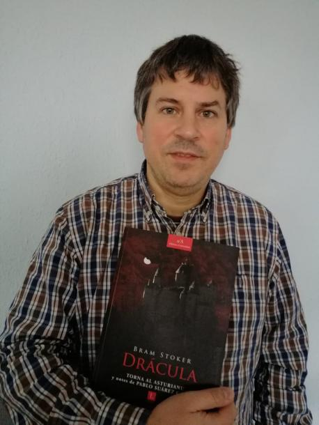 Pablo Suárez García con 'Drácula'