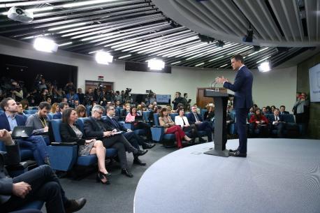 Pedro Sánchez convoca eleiciones anticipaes