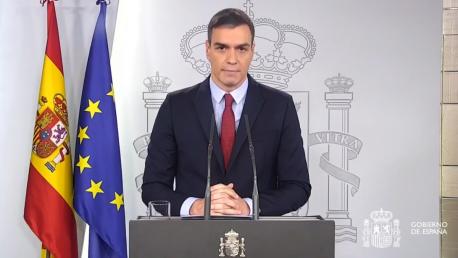 Pedro Sánchez estáu d'alerta