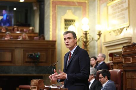 Pedro Sánchez intentu investidura
