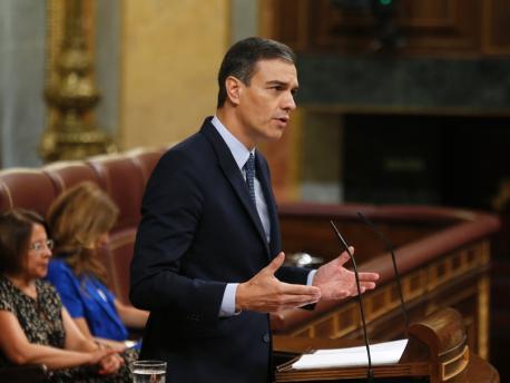 Pedro Sánchez primer votación investidura