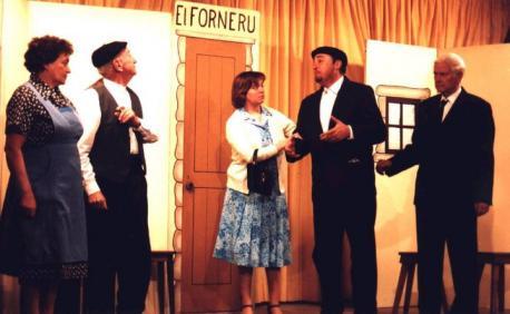 Pili Ibaseta, Arsenio González, Mar Buelga, Manuel Aller y Eladio Sánchez