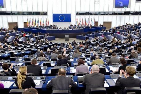 Plenu del Parllamentu Européu