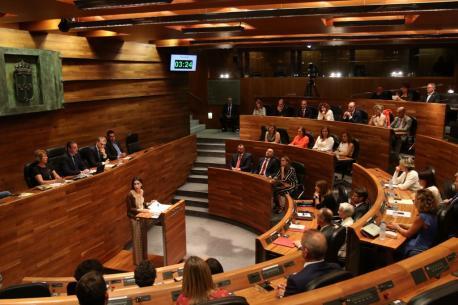 Plenu Día d'Asturies Xunta Xeneral