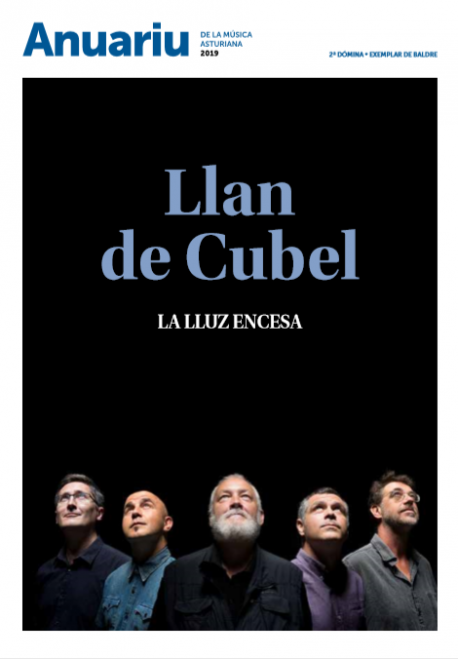 Portada Anuariu de la Música Asturiana 2019